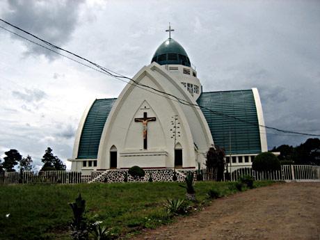 Cathédrale de Bukavu, Sud Kivu, Congo - Photo: Timothee Rolin