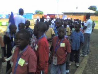 Après les enfants soldats,voici les enfants députés