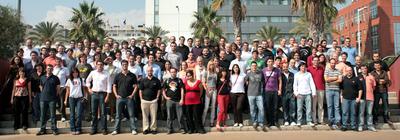 L'équipe de Softonic à Barcelone