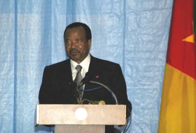 Paul Biya, président du Cameroun, photo wikipedia.org