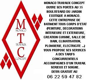 MONACO TRAVAUX CONCEPT
