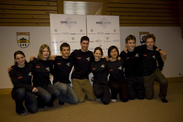 SELECTION OF THE YOUNG EXPLORERS WHO WILL JOIN MIKE HORN'S PANGAEA EXPEDITION IN NEW ZEALAND