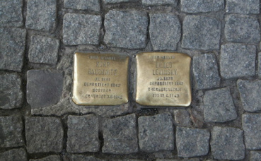 Stolpersteine. Photo (c) Einsamer Schütze