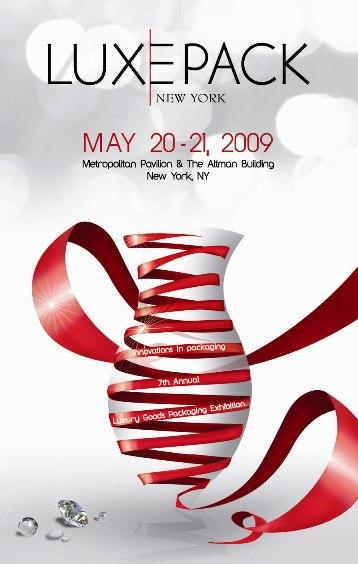 Luxe Pack New York 2009 : espace d'expositions étendue  et riche programme de conférences