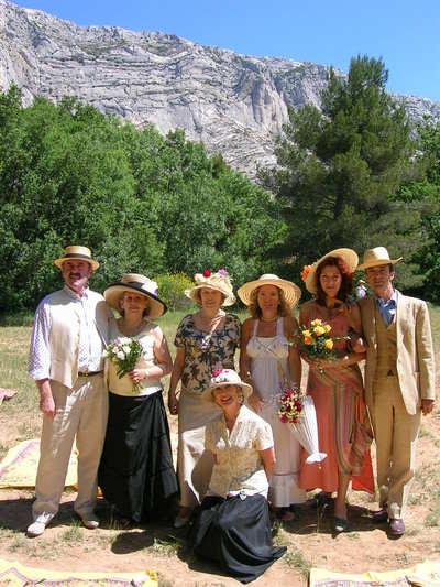16ème Déjeuner sur l'Herbe Cézannien - 14 juin 2009 Aix-en-Provence