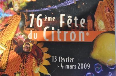 MENTON - La Fête du Citron se prépare J-5