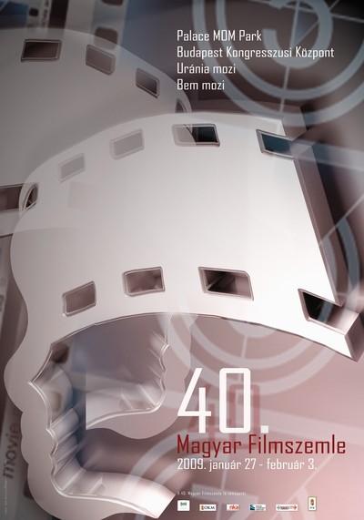 Affiche officiel du 40e Filmszemle
