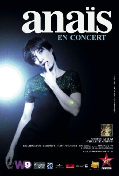 Anais donnera deux concerts exceptionnels à l'Olympia début mars