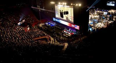 Image de la compétition 2008 (Source: ESWC)
