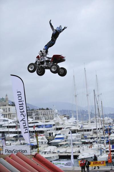 SPORT: Monaco QUAD MASTER, un show unique en Europe!