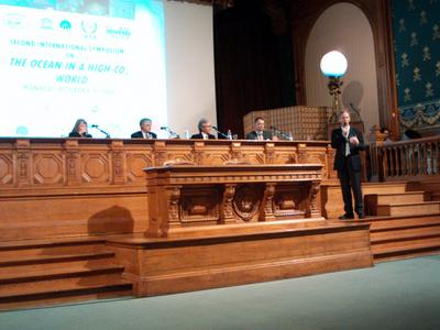 Le Symposium d'octobre 2008. Photo (c) CAP 3D