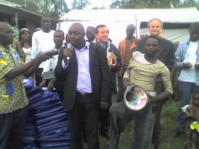 Sant'Egidio assiste les déplacés de Mugunga.