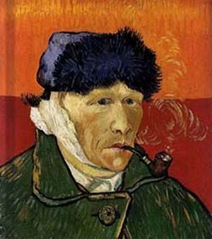 Autoportrait à l'oreille bandée ou L'Homme à la pipe, Vincent van Gogh, 1889