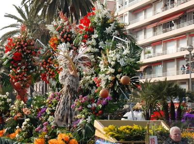Carnaval de Nice – 4ème Bataille de Fleurs