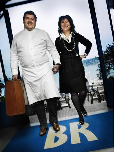 ALAIN LLORCA, CHEF  ETOILE A LA TETE DES CUISINES DES HOTELS BELLES RIVES ET JUANA