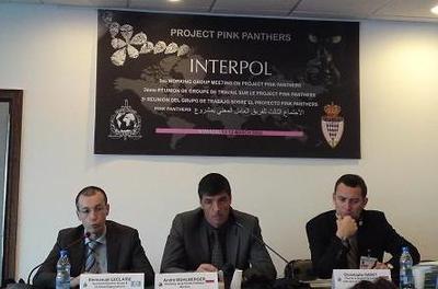La réunion internationale au sujet des Pink Panthers (c) CAP 3D