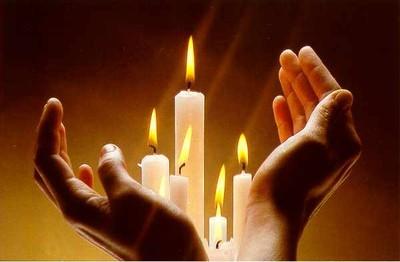 Les quatre bougies : métaphore pleine d'espoir