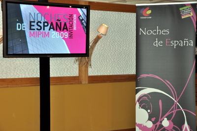 MIPIM CANNES - SOIREE NOCHES DE ESPANA