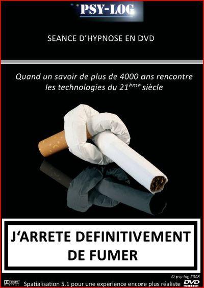 J'arrête définitivement de fumer