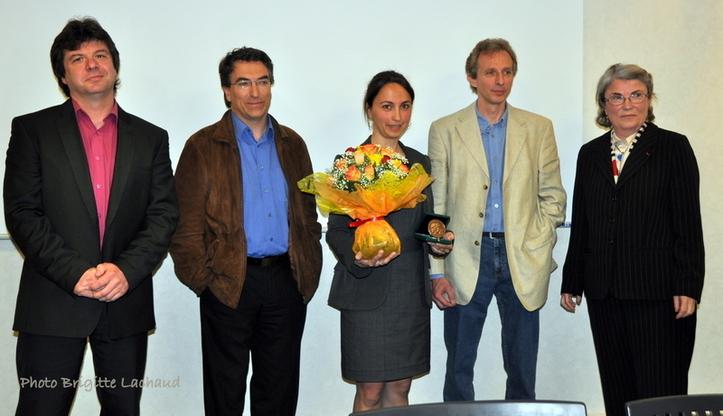 CNRS COTE D'AZUR - Médaille de Bronze à Isabelle Rubera