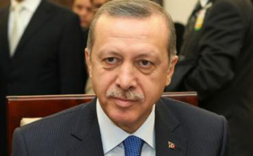 Recep Tayyip Erdoğan, Premier ministre de 2003 à 2014 et président de la République de Turquie depuis 2014. Photo (c) Michał Józefaciuk.