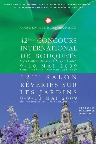 Rêveries sur les Jardins, Concours International de Bouquets