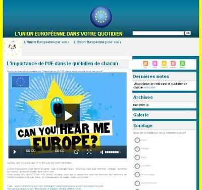 UE: Des citoyens européens à Bruxelles pour discuter de l'avenir de l'Europe