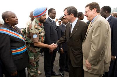 Impossible de protéger les civils congolais de l'Est.