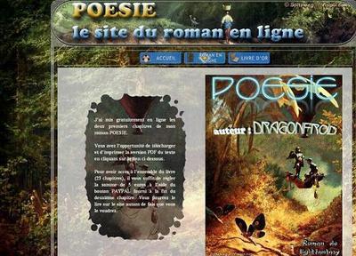 Dragonfroid, roman heroïc-fantasy en ligne