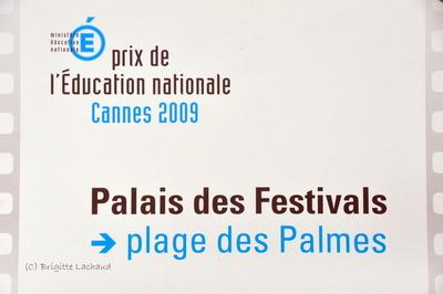 FESTIVAL DE CANNES - PRIX DE L'EDUCATION NATIONALE