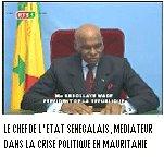 CRISE POLITIQUE MAURITANIENNE: Le Président Wade invite les protagonistes à Dakar pour fumer le calumet de la paix