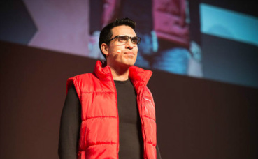Idriss Aberkane. Photo (c) TEDxRennes