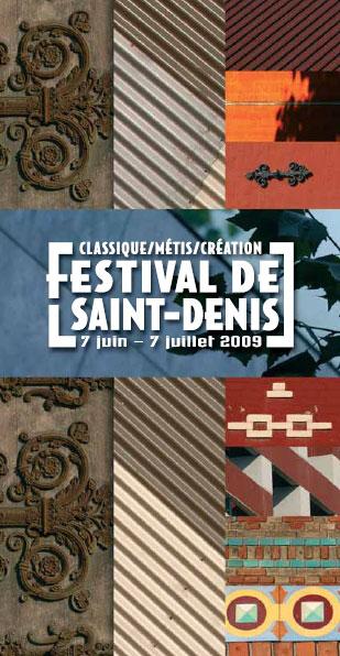 Le Festival de St Denis a débuté, 4 concerts seront retransmis sur internet