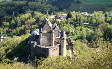 Paysage luxembourgeois. Image du domaine public.