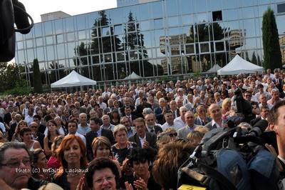GARDEN-PARTY POUR LE MINISTRE CHRISTIAN ESTROSI