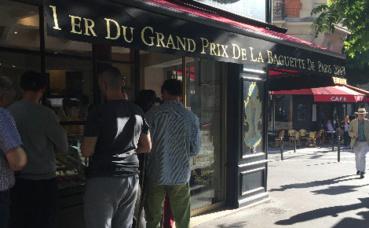 Boulangerie Brun dans le 13e à Paris. Photo (c) Sophie Dongois