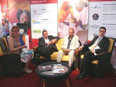 Partenariats public-privé - au Salon de la Coopération Internationale à Dakar