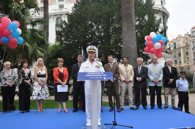 INDEPENDANCE DAY AU PALAIS MASSENA A NICE