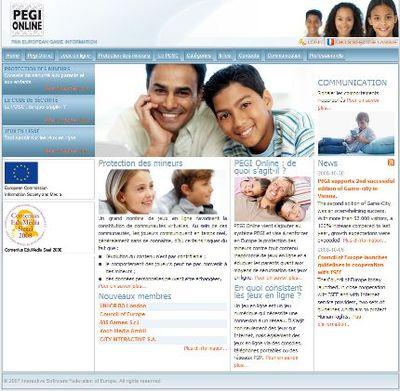 PEGI sera Online pour mieux protéger les mineurs
