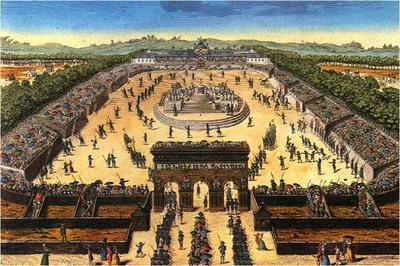 La Fête de la Fédération, le 14 juillet 1790 au Champ de Mars