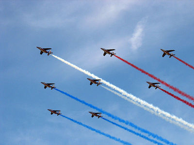 La Patrouille de France. Source: wikipedia