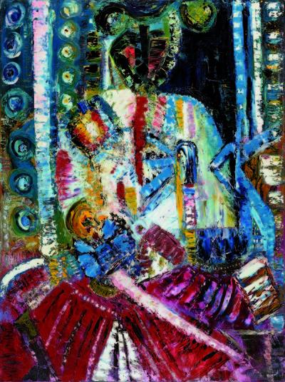 Exposition de peinture de Joël Rougié et d'Hélène Roman