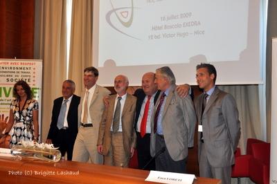 Daniele vaccarino elu president de la chambre de commerce for Chambre de commerce franco italienne