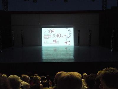 La scène des Nuits de la Danse (c) Eva Esztergar CAP 3D