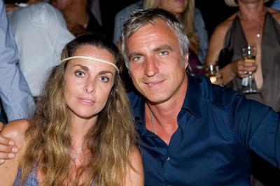 David Ginola et une amie