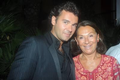 Antoine Chevanne (CEO du Groupe Floirat) et Mireille Chevanne (Présidente de l'Hôtel Byblos).