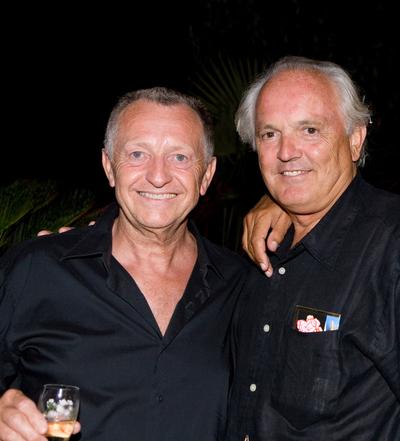 Jean Michel Aulas et Christian Bîmes.
