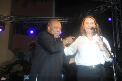 Quincy Jones et Roger Hodgson.