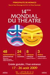 14e Mondial du Théâtre - demandez le programme!