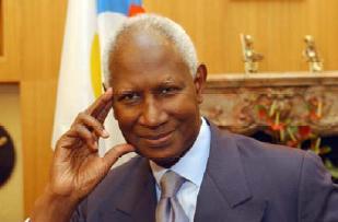 M. Abdou Diouf, Secrétaire général de la Francophonie © JJ Ceccarini